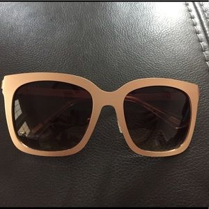 Diff Eyewear Ella rose gold sunglasses
